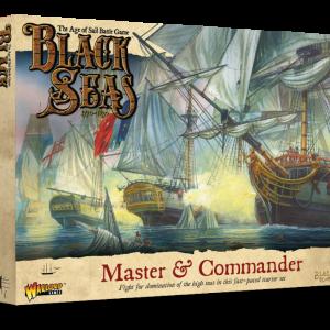 Warlord Games Black Seas  Black Seas Black Seas: Master & Commander Starter Set - 791510001 - 5060572505155