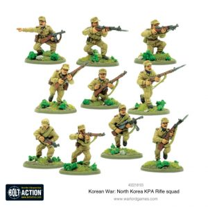 Warlord Games Bolt Action  Korean War (1950-1953) North Korean KPA Rifle Squad - 402218103 - 5060572503724