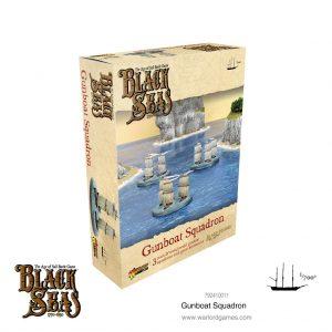 Warlord Games Black Seas  Black Seas Black Seas: Gunboat Squadron - 792410011 - 5060572505384