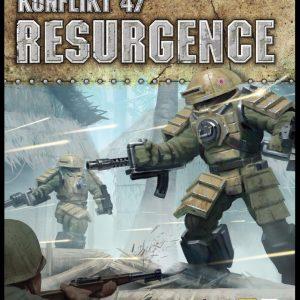 Warlord Games Konflikt '47  Konflikt 47 Essentials Konflikt 47 Resurgence - 451011201 - 9781472826503