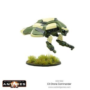 Warlord Games Beyond the Gates of Antares  PanHuman Concord C3 Drone Commander - 503213002 - 5060393707349