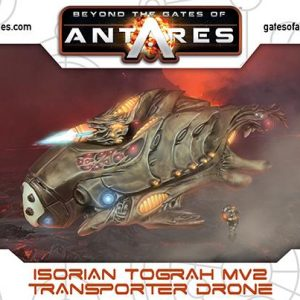 Warlord Games Beyond the Gates of Antares  Isorian Senatex Isorian Tograh MV2 transporter drone - 502416005 - 5060393709381