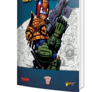 Warlord Games Judge Dredd  Judge Dredd Judge Dredd: Rulebook - 659910002 - 9781911281559