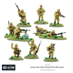 Warlord Games Bolt Action  Korean War (1950-1953) North Korean KPA LMG Squad - 402218102 - 5060572504479