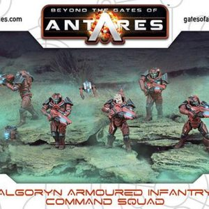 Warlord Games Beyond the Gates of Antares  Algoryn Algoryn Command Squad - 502011002 - 5060393706076