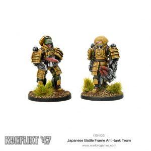 Warlord Games Konflikt '47  Japan (K47) Japanese Battle Frame Anti-tank Team - 453011204 - 5060572501058