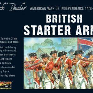 Warlord Games Black Powder  American War of Independence British Army starter set - WGR-ARMY1 - 5060393702450