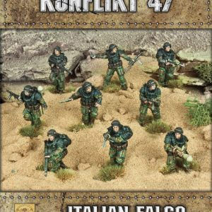 Warlord Games Konflikt '47  Italy (K47) Italian Falco Paratroopers - 452211604 - 5060572501591