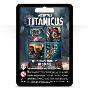 Games Workshop (Direct) Adeptus Titanicus  Adeptus Titanicus Adeptus Titanicus: Questoris Knights Upgrades - 99070399001 - 5011921127672