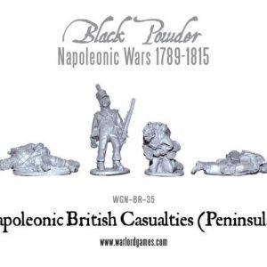Warlord Games Black Powder  British (Napoleonic) British Casualties (Peninsular) - WGN-BR-35 - 5060393700739