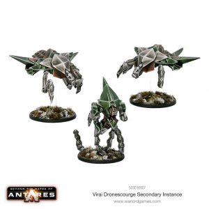 Warlord Games Beyond the Gates of Antares  Virai Dronescourge Virai Dronescourge Secondary Instance Command - 503016507 - 5060393709633