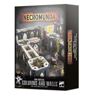 Games Workshop Necromunda  Necromunda Necromunda: Zone Mortalis Columns & Walls - 99120599014 - 5011921131402