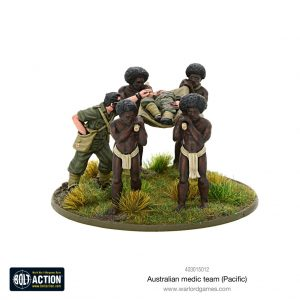 Warlord Games Bolt Action  Australia (BA) Australian medic team (Pacific) - 403015012 - 5060572501249
