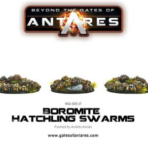 Warlord Games Beyond the Gates of Antares  Boromite Guilds Boromite Hatchling Swarms (3) - WGA-BOR-37 - 5060393703839