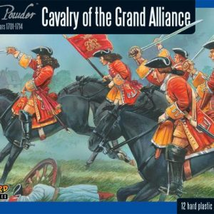 Warlord Games Black Powder  Marlborough's Wars Marlborough's Wars: Cavalry of the Grand Alliance - 302015004 - 5060393704652