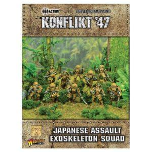 Warlord Games Konflikt '47  Japan (K47) Japanese Assault Exo Skeleton Squad - 452211204 - 5060393708445