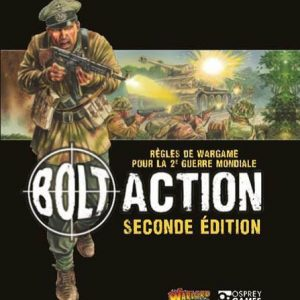 Warlord Games Bolt Action  Bolt Action Essentials Bolt Action 2 Rulebook - French - 409920003 -