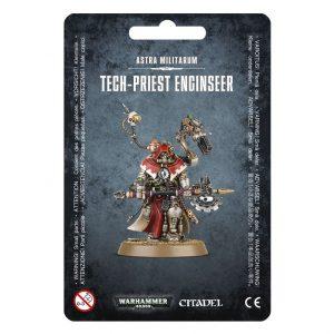 Games Workshop Warhammer 40,000  Adeptus Mechanicus Tech-Priest Enginseer - 99070105002 - 5011921073894