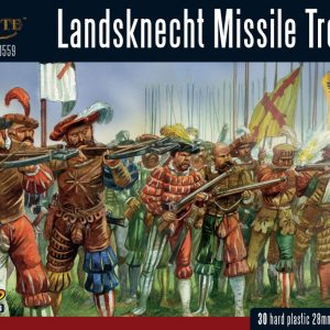 Warlord Games Pike & Shotte  Italian Wars 1494-1559 Landsknecht Missile Troops - 202016003 - 5060393709459