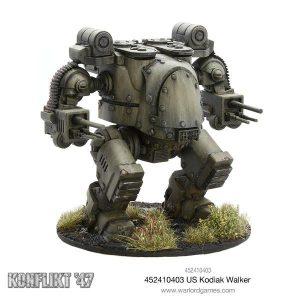 Warlord Games Konflikt '47  USA (K47) US Kodiak Walker - 452410403 - 5060393705734