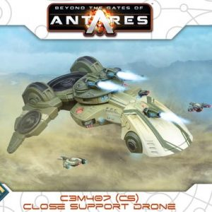 Warlord Games Beyond the Gates of Antares  PanHuman Concord C3M407 Close Support Drone - 502413005 - 5060393707516