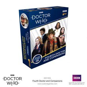 Warlord Games Doctor Who  Doctor Who Doctor Who: The 4th Doctor & Companions - 602210004 - 5060393709534
