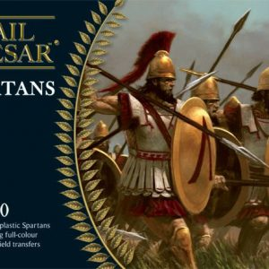 Warlord Games Hail Caesar  Classical World Spartans: Spartans (40) (plastic) - WGH-GR-1 - 5060200843307