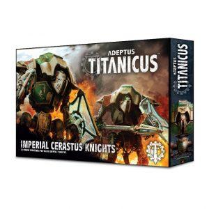 Games Workshop (Direct) Adeptus Titanicus  Adeptus Titanicus Adeptus Titanicus: Cerastus Knights - 99120399007 - 5011921113057