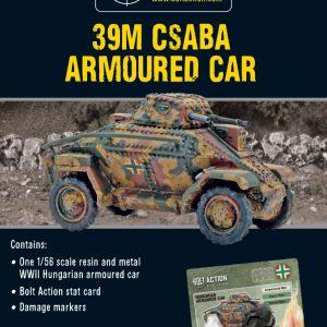 Warlord Games Bolt Action  Hungary (BA) 39M Csaba Armoured Car - 402417401 - 5060572503663