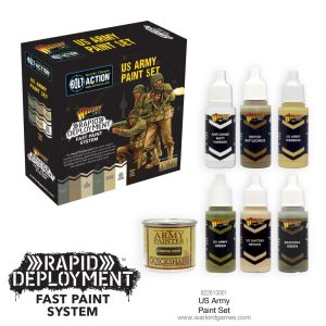 Warlord Games Bolt Action  United States of America (BA) Bolt Action US Paint Set - 822613001 - 5060572500563