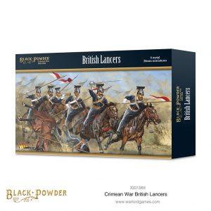 Warlord Games Black Powder  Crimean War Crimean War British Lancers - 302213804 - 5060572503441