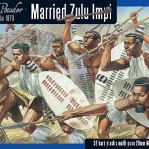Warlord Games Black Powder  Anglo-Zulu War Anglo Zulu War Married Zulu Impi - 302014603 - 5060393706465