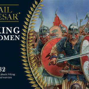 Warlord Games Hail Caesar  The Dark Ages Viking Hirdmen - 102013101 - 5060393706175