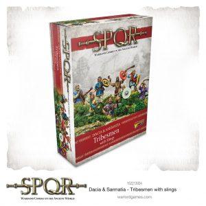 Warlord Games SPQR  SPQR SPQR: Dacian Tribesmen with slings - 152213004 - 5060572505469