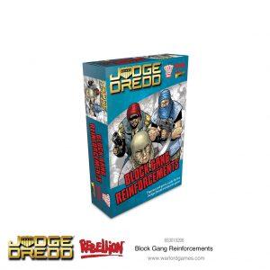 Warlord Games Judge Dredd  Judge Dredd Judge Dredd: Block Gang Reinforcements - 653010206 - 5060572505247