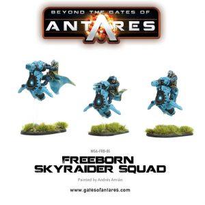 Warlord Games Beyond the Gates of Antares  Freeborn Freeborn Sky Raider Squad - WGA-FRB-06 - 5060393702320