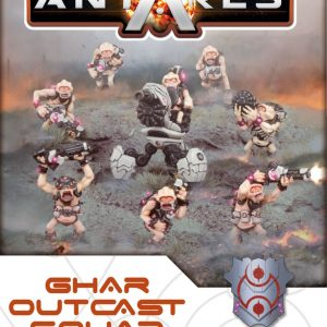 Warlord Games Beyond the Gates of Antares  Ghar Rebels Ghar Outcast Squad - WGA-GAR-04 - 5060393702894