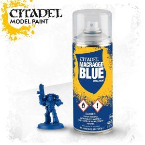 Games Workshop   Spray Paint GW Spray: Macragge Blue - 99209999069 - 5011921071739