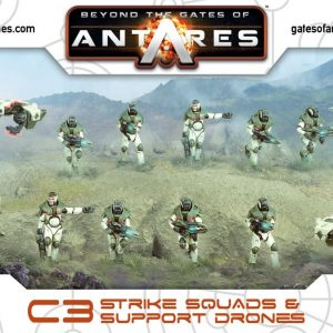 Warlord Games Beyond the Gates of Antares  PanHuman Concord Concord Strike Squad (Plastic) - WGA-CON-16 - 5060393703051