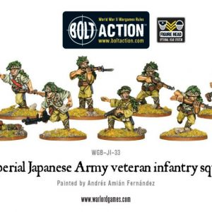 Warlord Games Bolt Action  Japan (BA) Imperial Japanese Veteran Infantry Squad - 402216003 - 5060572501331