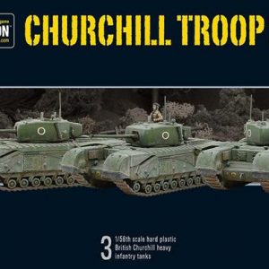 Warlord Games Bolt Action  Great Britain (BA) Churchill Troop - 402011001 - 5060393704065