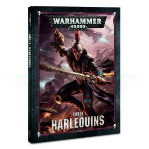 Games Workshop Warhammer 40,000  Harlequins Codex: Harlequins - 60030111003 - 9781788262132
