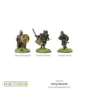 Warlord Games Hail Caesar  The Dark Ages Viking Warlord - 103013116 - 5060572500099