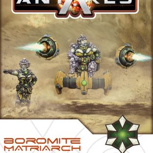 Warlord Games Beyond the Gates of Antares  Boromite Guilds Boromite Matriarch - WGA-BOR-05 - 5060393703556