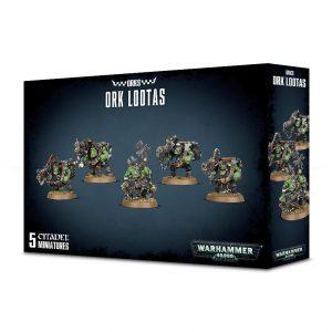 Games Workshop Warhammer 40,000  Orks Ork Lootas and Burnas - 99120103054 - 5011921096152