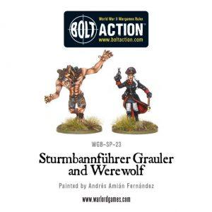 Warlord Games Bolt Action  Germany (BA) Wulfen SS (Frau Growler & Werewolf) - WGB-SP-23 - 1