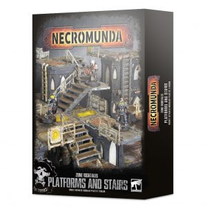Games Workshop Necromunda  Necromunda Necromunda: Zone Mortalis Platforms & Stairs - 99120599015 - 5011921131419