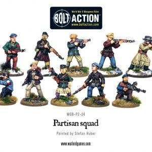 Warlord Games Bolt Action  Bolt Action Extras Partisan Band - WGB-PZ-24 - 5060393700692