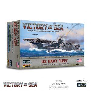 Warlord Games Victory at Sea  Victory at Sea Victory at Sea: US Navy Fleet - 742412002 - 5060572505957