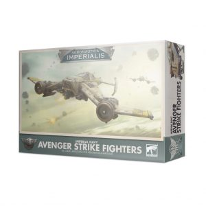 Games Workshop Aeronautica Imperialis  Aeronautica Imperialis Aeronautica Imperialis: Imperial Navy Avenger Strike Fighters - 99121808006 - 5011921133246